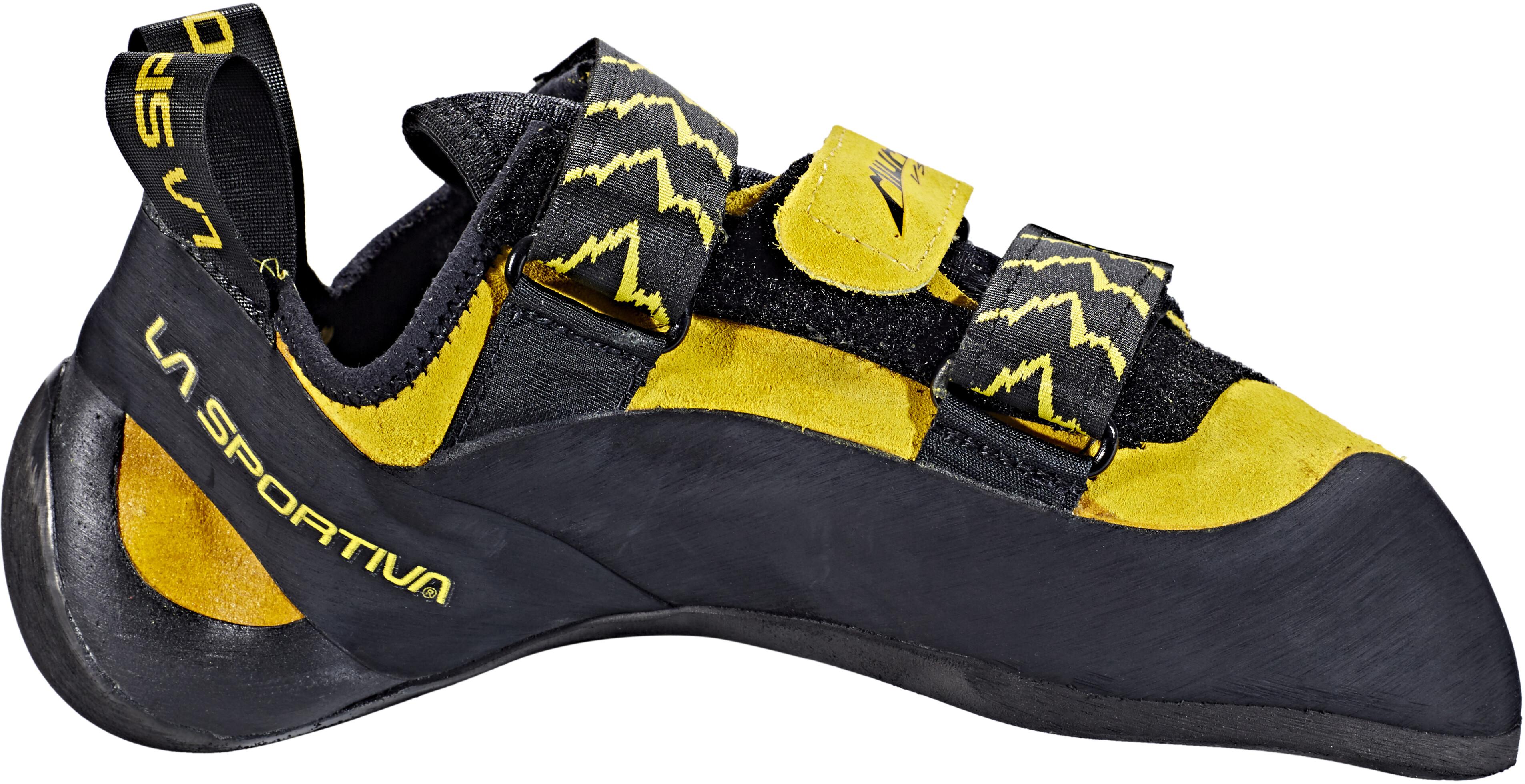 e9b660be La Sportiva Miura VS klimschoenen Heren, yellow/black l Online ...